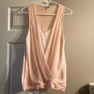 Express tank blouse
